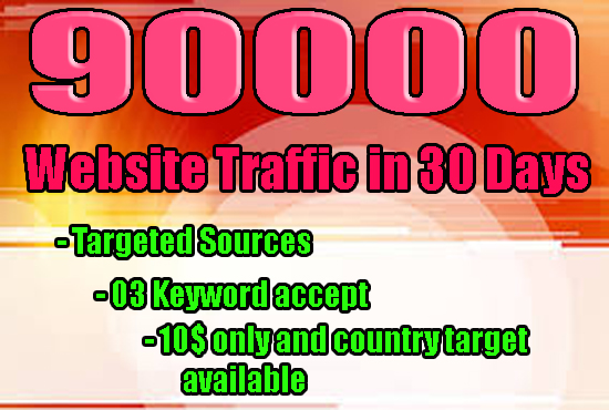 DRIVE REAL SOCIAL MEDIA TRAFFIC FOR ONE MONTH