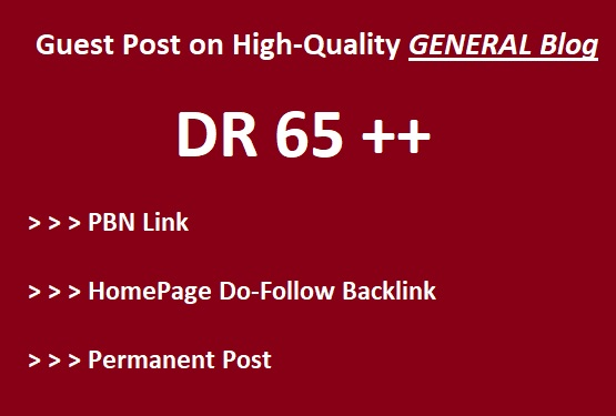 Guest Post on High-Quality General blog writing + posting