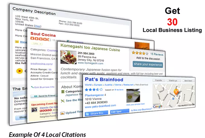 do Manually 30 Business Listing or Directory Submission