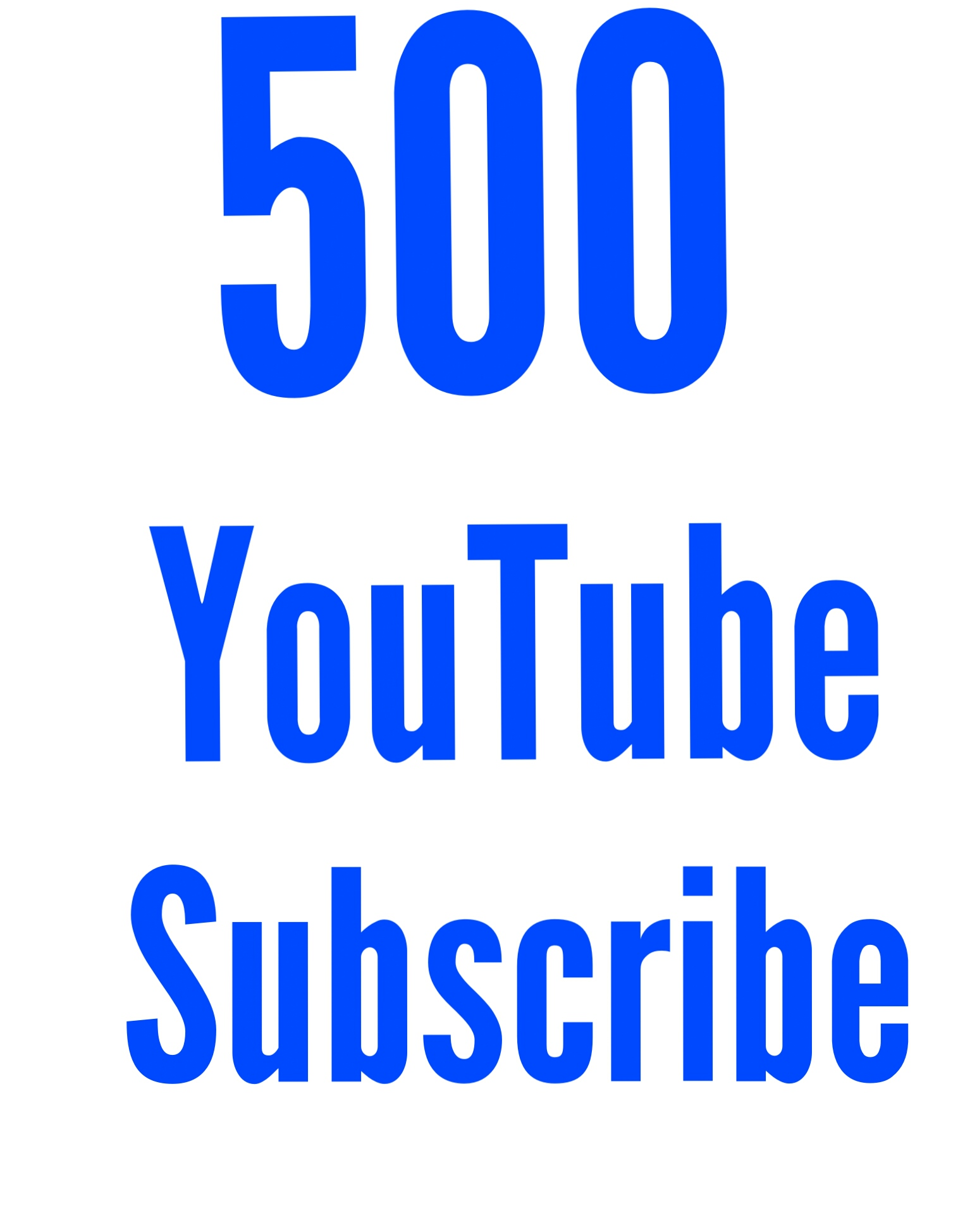 500+ Never Drop Active You tube Subs cribe delivery within 1-6hour