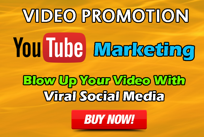 3 to 5 Minutes Retention Non Drop  Video Promotion Marketing