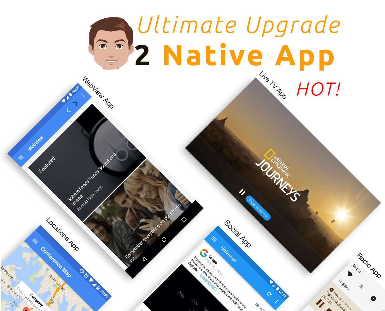 Get a Native Android App for your WEBSITE / WEBAPP