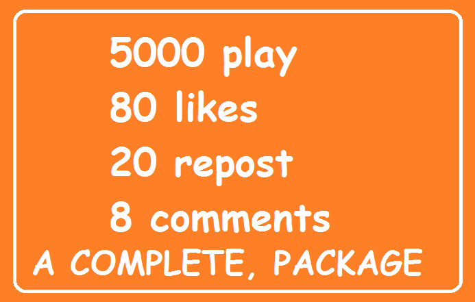 5000 play promotion+80 like+22 repost+8 comments