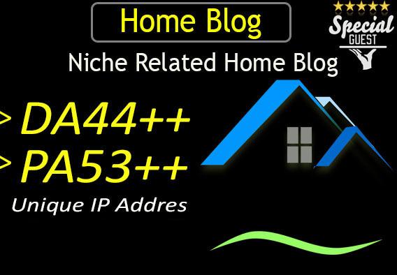 give you DA44 home improvement guest post