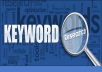 Do deep SEO 40 Keyword Research for your Niche or website