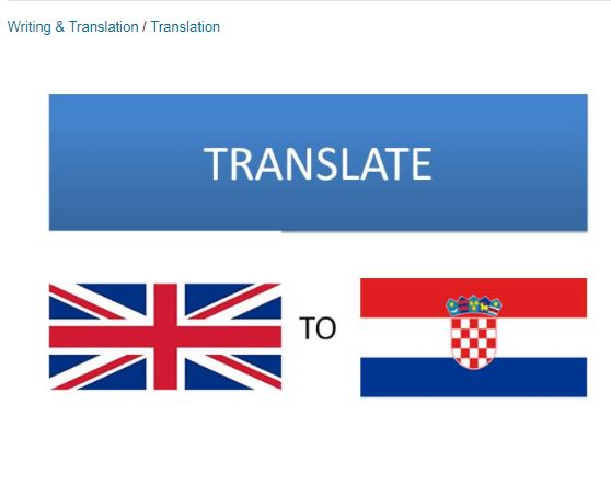 Translate English to Croatian