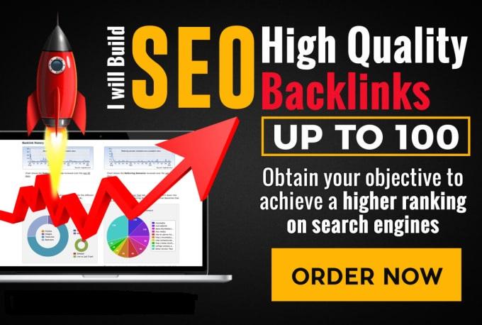 Get 100 High PR Quality Backlinks