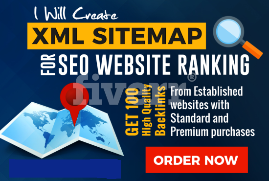 Create XML Sitemap For Website SEO With Indexing Service Option