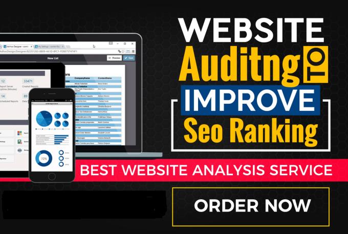 Perform Website Audit Analysis To Improve SEO Ranking