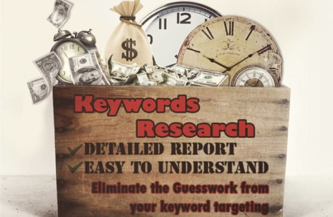 Research profitable low competitive keywords