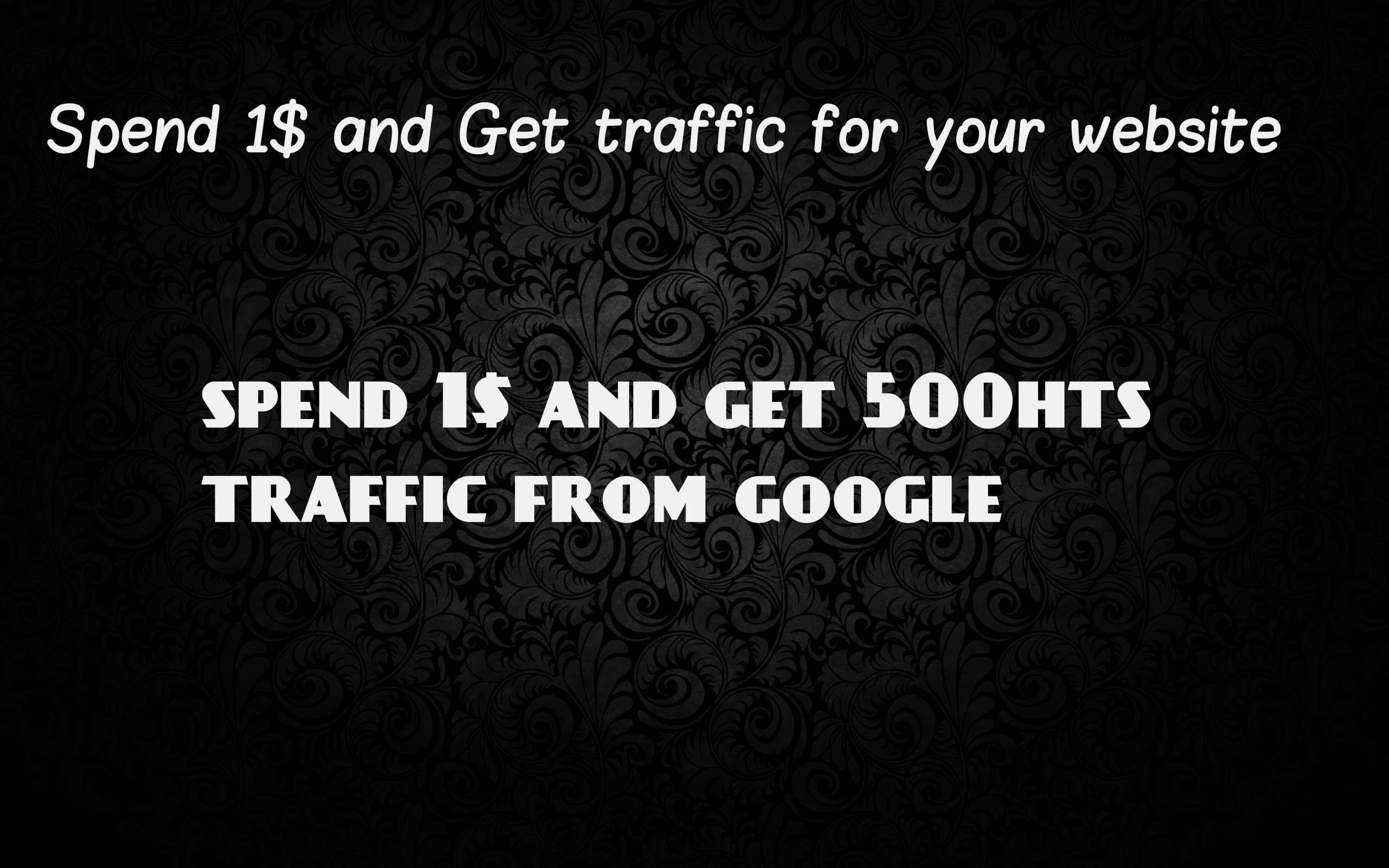 Get Organic,  social,  direct traffic for 1 Directly form USA