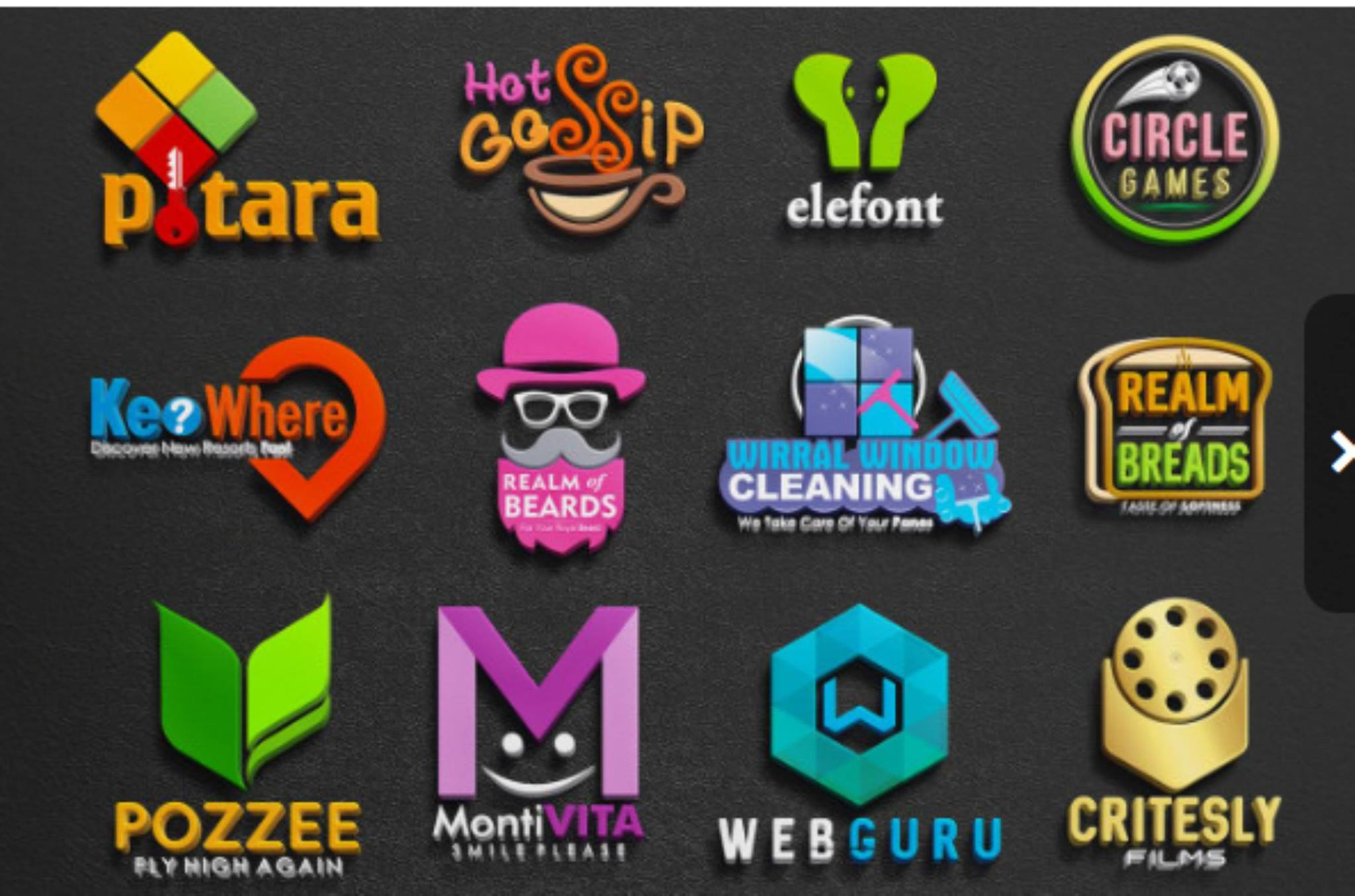 Design professional logo for you for $5  in just 2hours