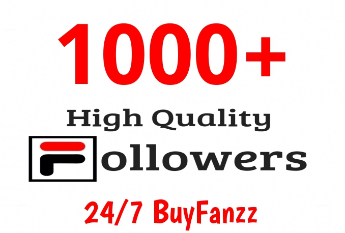 Add Fast 1000+ Profile Followers High Quality for $3