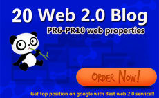 """I will "" do 20 web 2.0 high pr sites"