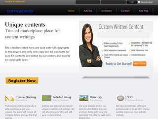 Quality Content for your website promotion