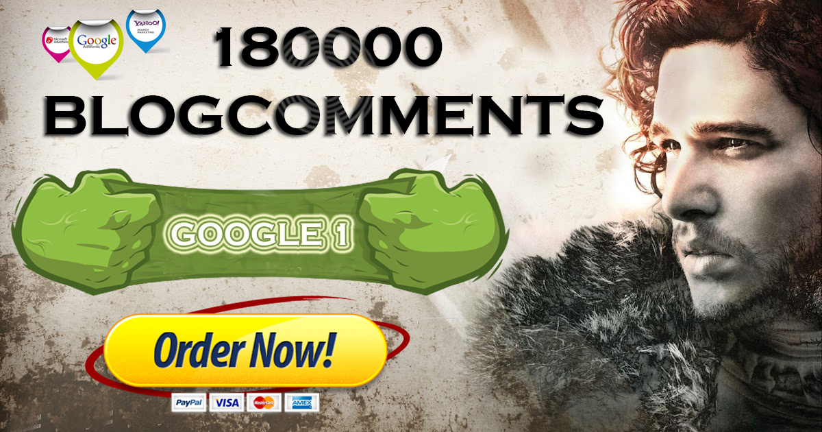 WE WILL BOOST YOUR RANKING WITH 180000 BLOGCOMMENTS TO TOP 1 ON GOOGLE,  YAHOO & BING WITH IN 10-20 DAYS- 5000+ ORDERS TO DATE