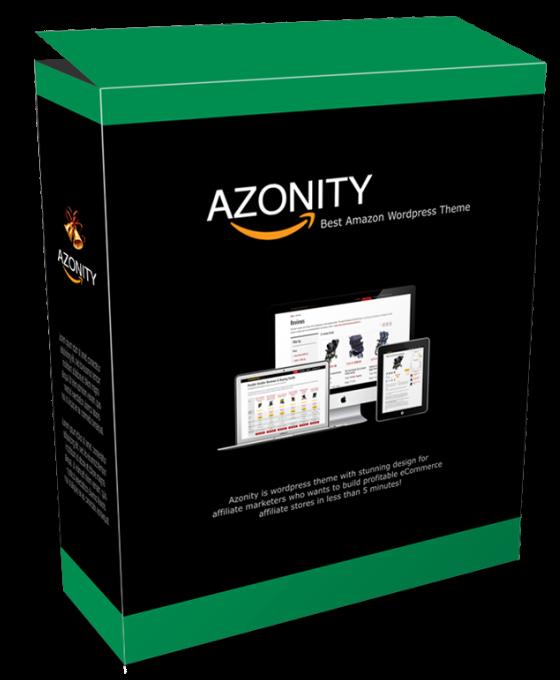 Install Azonity Wp Theme On Wordpress Site