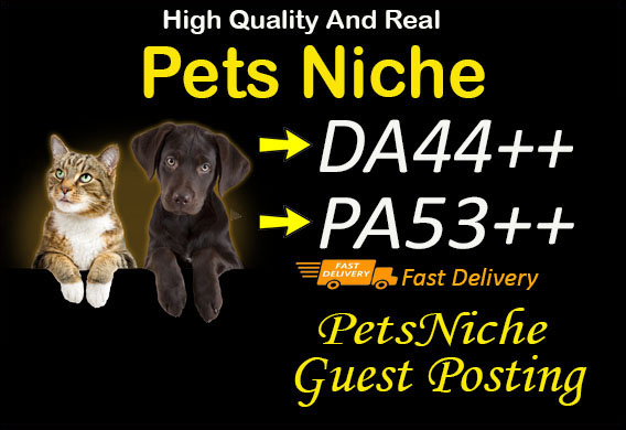 Guest Post On Da44 Pets Niche Blog