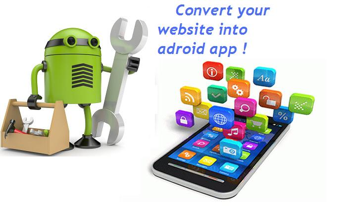 Convert your website into Android APP. Download it as file or by QR code !!!!!