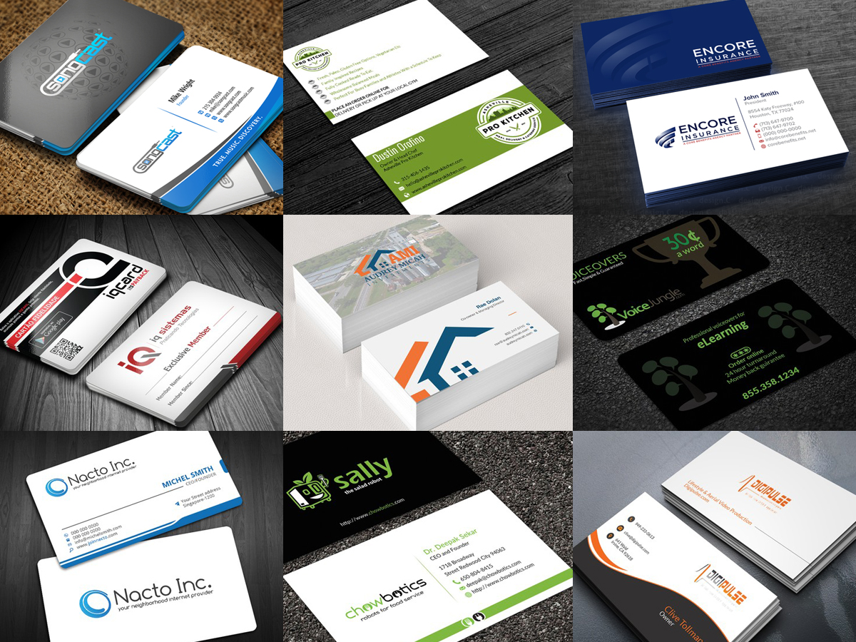 Design Professional Business Card Within 24 Hrs for $5 - SEOClerks
