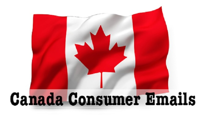Canadian Consumers Email List - 575,000 Consumer email database