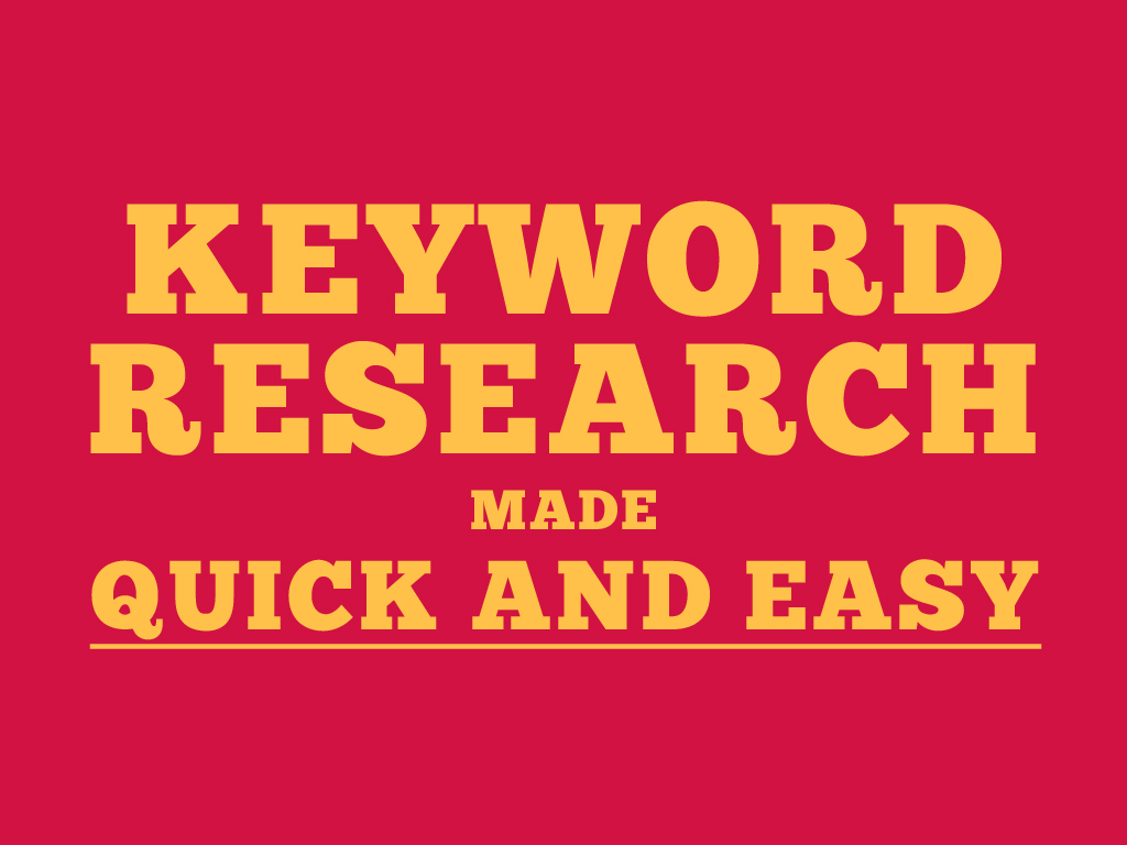 will do 20 keyword research and 5 competitor analysis