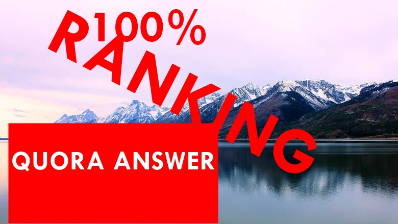 provided 40 quora answer for your  website ranking