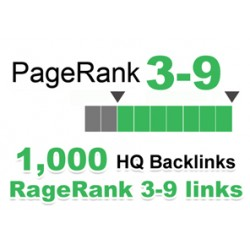 Rank 1 in Google Search with 1000 HQ BackLinks Do Follow