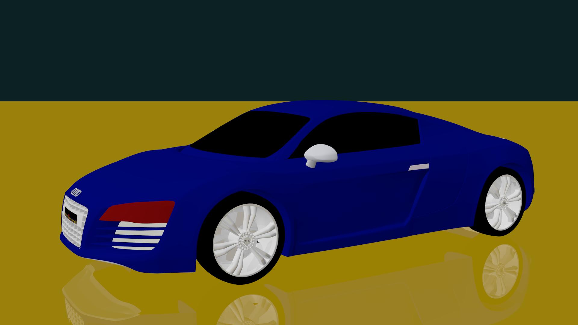 I can make 3D car model for you
