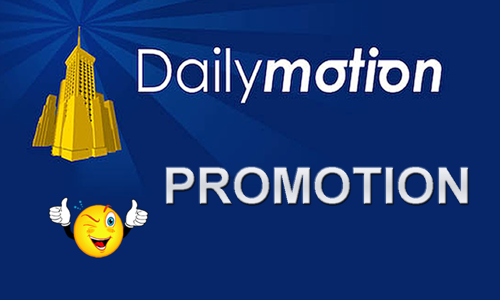 5000 Dailymotion Promotion For Your Video