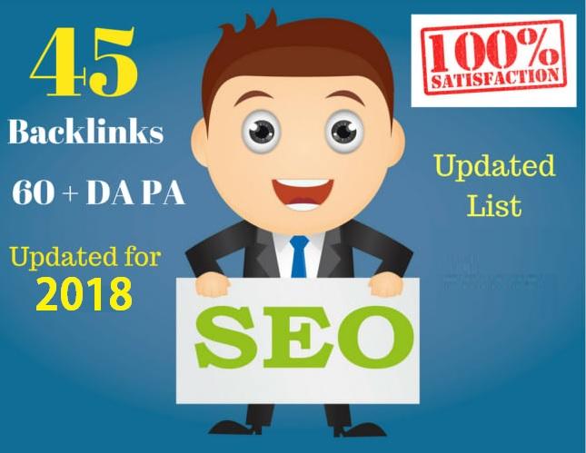 Create 45 Backlinks from High DA-40+ Domains-Skyrocke...