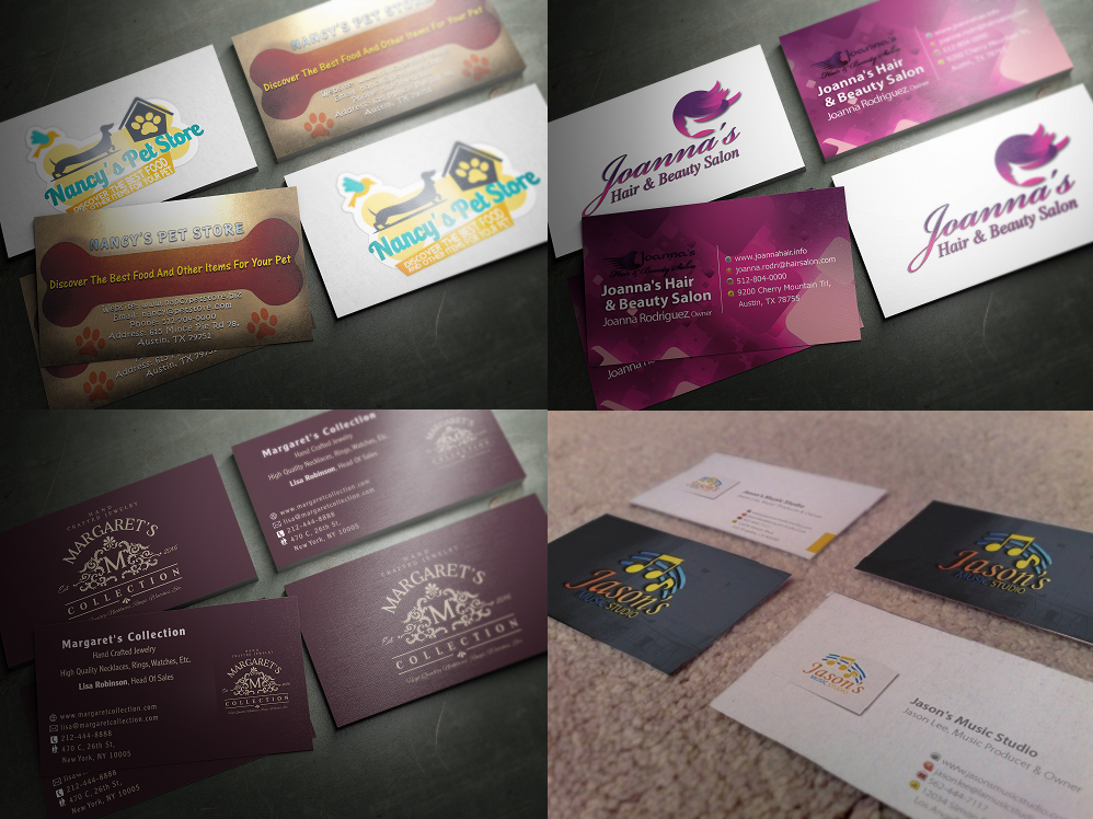 professional and quality business cards design - Quality Business Cards