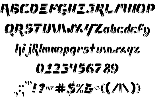 Will make your handwriting or your own idea into a font