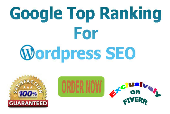 I will rank your WordPress site for google 1st page guaranteed results-Update 2019 SEO package