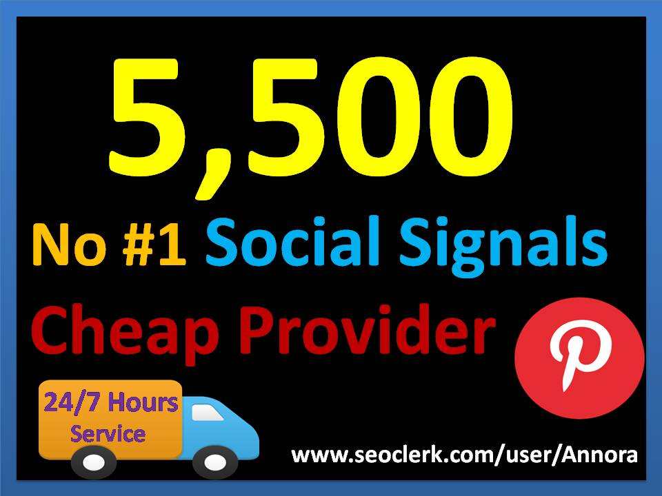 5,500 Pinterest LifeTime USA social Signals for Cpa Affiliate Marketing & Business Promotion benefit To boost SEO site Traffic & Share Bookmarking Backlink Most imperative Google Ranking influence