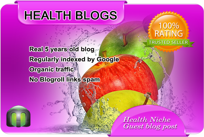 write and guest post on high quality health blog