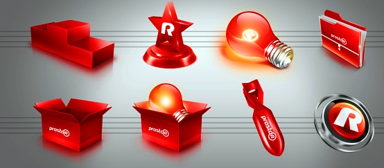Will Create Attractive 3D or Flat Icons For You