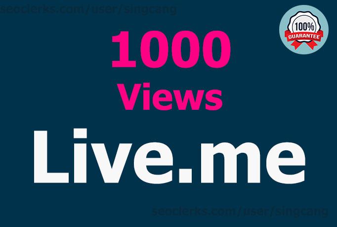 1000 Views Live. me High-Quality