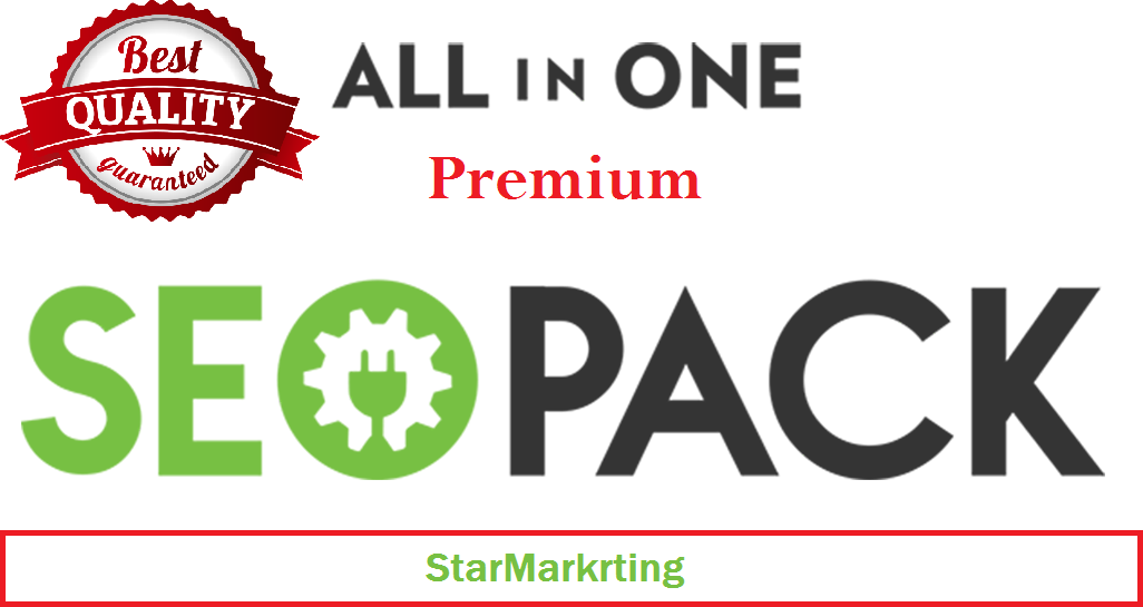 All In One Premium SEO Package to Improve your Google SERP Ranking