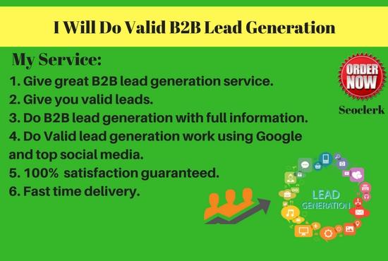 Targeted B2B Lead Generation