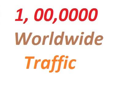 1, 00,0000  Real  Website Traffic Worldwide