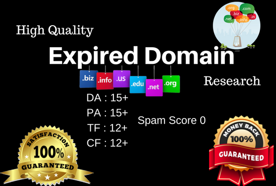 Get SEO Friendly High Metrics Expired Domains For PBN