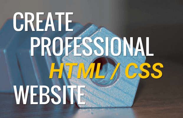 Create a Beautiful Business Website using html css and javascript