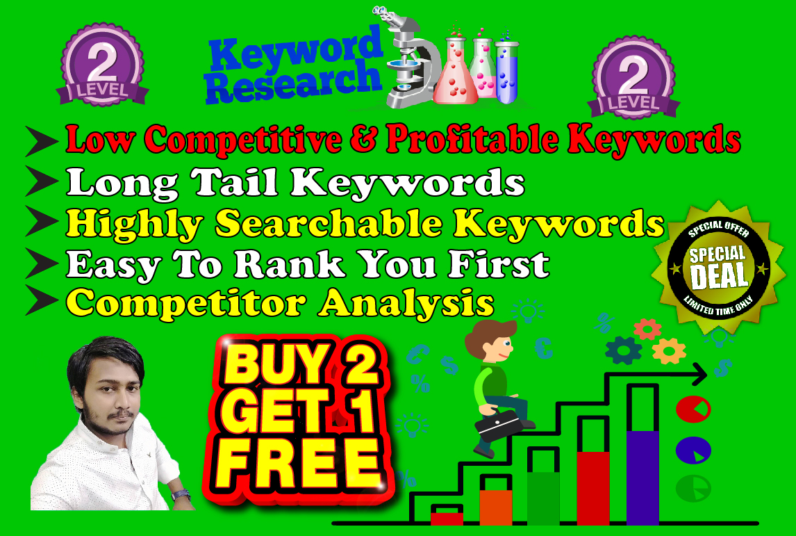 Research & provide 20 profitable & rankable keywords in 24 hours