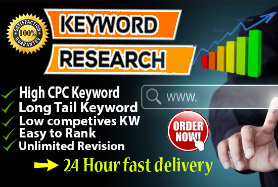 Do SEO Keyword Research And Competitor Analysis your website