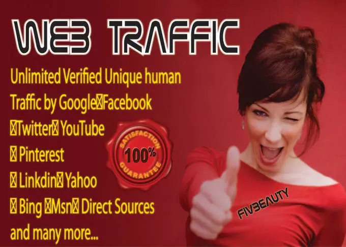 Send 300 000 Real Traffic, Visitors To Any Website