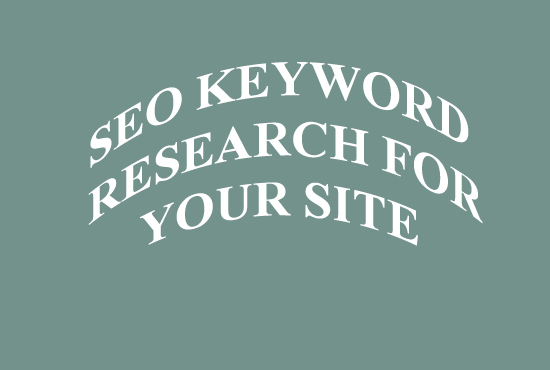 Seo Keyword Research For Your Site