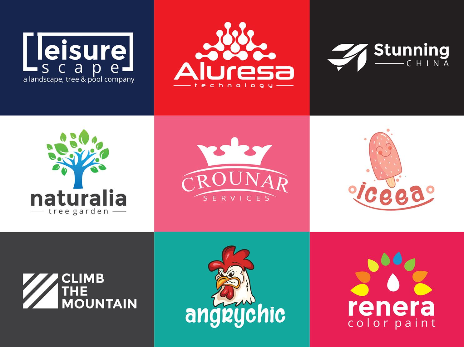 I will create a Unique Logo Design all Categorize for you Brand