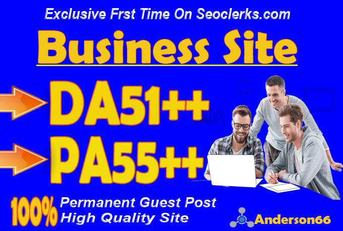 do guest post in DA51 HQ Business blog