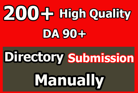 Top 300 Niche Directory Submission Manually